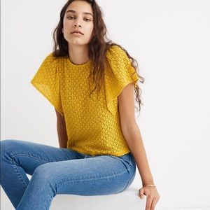 Madewell Texture & Thread Top